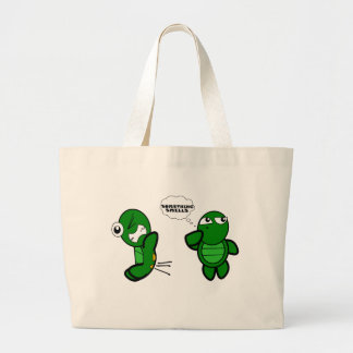 Turtle Fart Canvas Bags