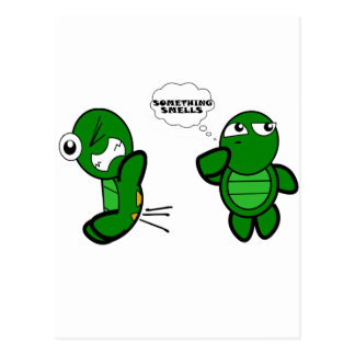 Turtle Fart Postcard