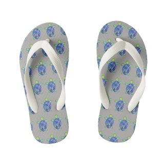 Turtle Flip Flops
