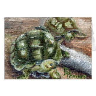 Turtle Friends Blank Card