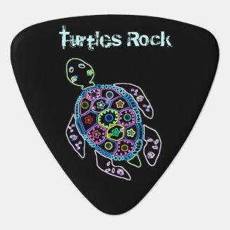 Turtle Glow Guitar Pick