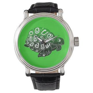 Turtle Green Wristwatch