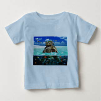 Turtle Island Fantasy Secluded Resort Baby T-Shirt