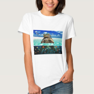 Turtle Island Fantasy Secluded Resort Tees