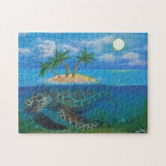 Turtle Island Jigsaw Puzzle