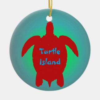 TURTLE ISLAND ornament