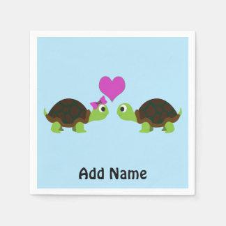 Turtle Love Disposable Napkin