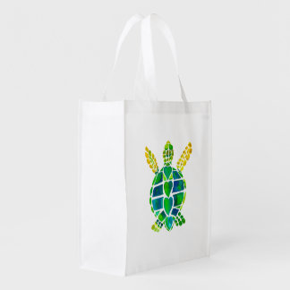 Turtle Love Grocery Bag