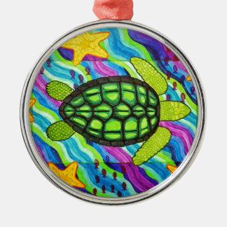turtle metal ornament