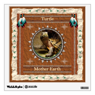 Turtle  -Mother Earth- Wall Decal