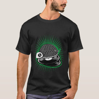 Turtle on Vinyl Records T-Shirt