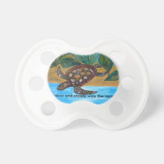 Turtle or tortoise accessories pacifiers