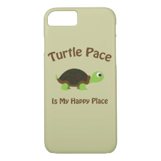 Turtle Pace is my Happy Place iPhone 8/7 Case