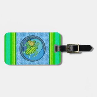 Turtle Pair Luggage Tag