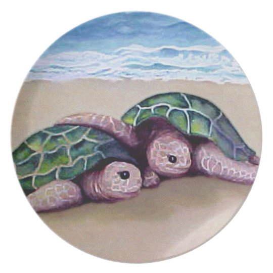 Turtle Pals Plate