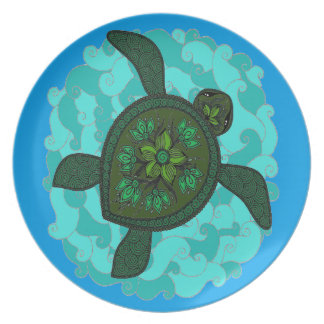 Turtle Party Plates