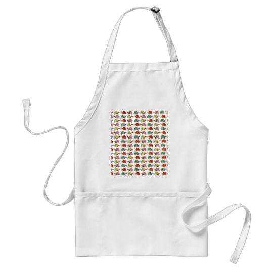 Turtle pattern standard apron
