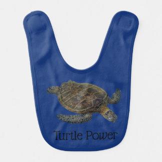 Turtle Power Bib
