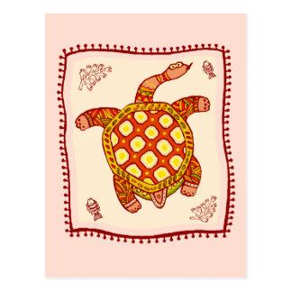Turtle Quilt Postcard