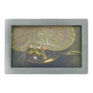 turtle rectangular belt buckle