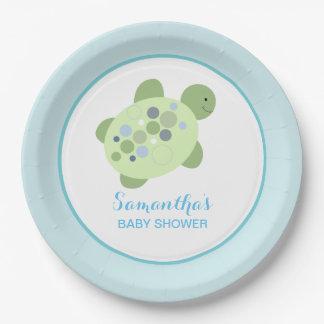 Turtle Reef Sea Turtle Custom Paper Plate