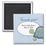 Turtle Reef Tortoise Baby Shower Favour Magnet