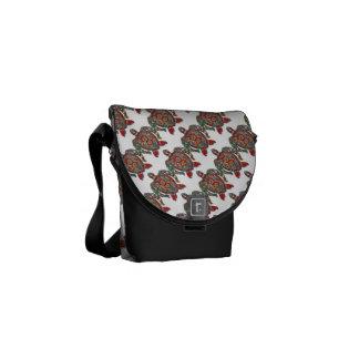 Turtle Reptile Animal Pattern Destiny Destiny's Courier Bag