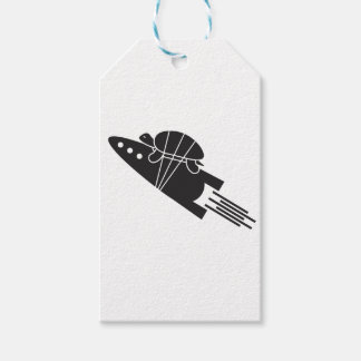 turtle riding a rocket  🐢  🚀 gift tags