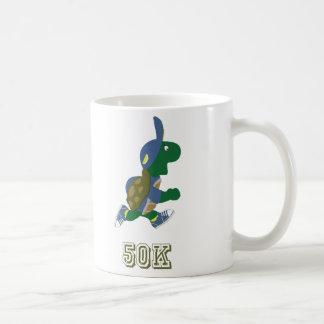 Turtle Runner 50K - blue Coffee Mug