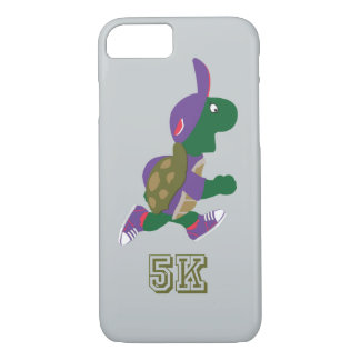 Turtle Runner 5K - Purple iPhone 7 Case