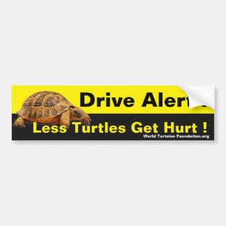 Turtle Safety Bumpersticker Bumper Sticker