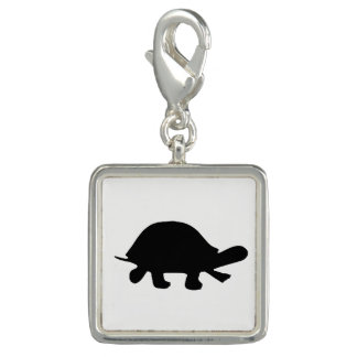 Turtle Silhouette Charms