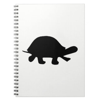 Turtle Silhouette Notebooks