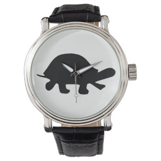 Turtle Silhouette Watch