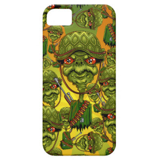 turtle soldier - funny army character iPhone 5 cover
