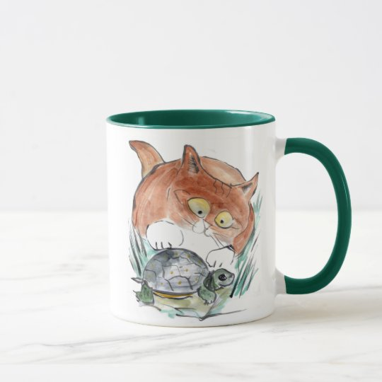Turtle Tag - Kitten says You're it! Mug