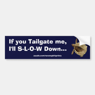 TURTLE TAILGATER  Bumper Sticker Collection