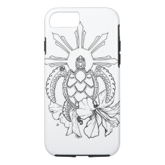 Turtle Tattoo iPhone 7 Case