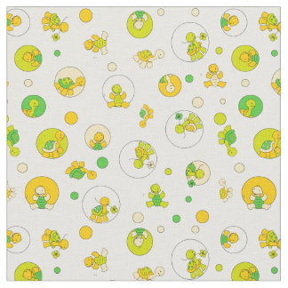 Turtle Time Fabric