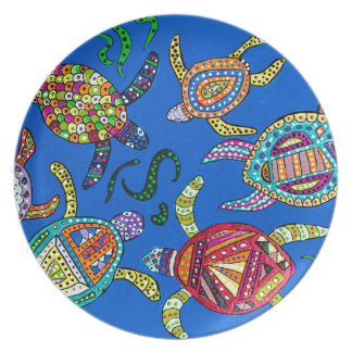 Turtle Time Plate