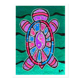 Turtle Totem Postcard