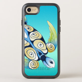turtle turquoise teal OtterBox symmetry iPhone 8/7 case