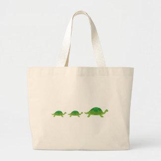 Turtle, Turtle, Turtle Large Tote Bag
