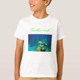 turtle, Turtles rock - Customized T-Shirt