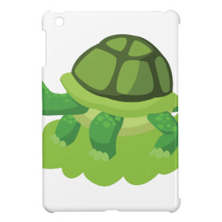 turtle walking in the grass iPad mini covers