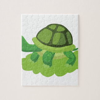 turtle walking in the grass jigsaw puzzle