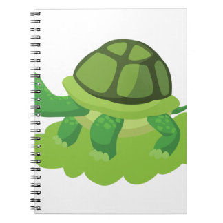 turtle walking in the grass notebooks