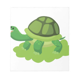 turtle walking in the grass notepad