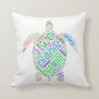 Turtle Wisdom Pillow
