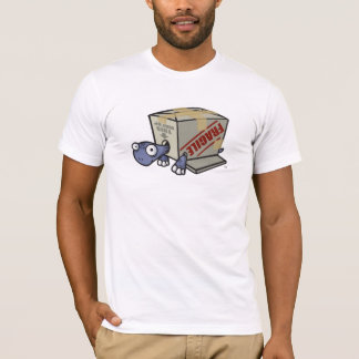 Turtle Without a Shell T-Shirt
